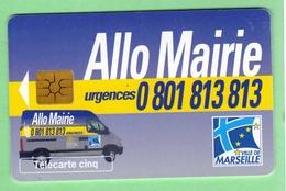 DS12 *** 5U ***  ALLO MAIRIE DE MARSEILLE *** (A5-P6) - 5 Unità