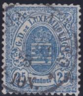 Luxembourg     .    Yvert    .     32     .     O     .        Oblitéré    .      /     .    Gebraucht - 1859-1880 Wapenschild