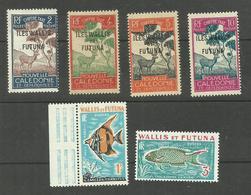 Wallis Et Futuna TAXE N°11 à 14, 37, 38 Neufs Avec Charnière* Cote 3.50 Euros - Other