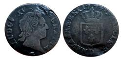 LOUIS XV Sol Vieille Tête 1774 D (Lyon) - 1715-1774 Louis XV Le Bien-Aimé