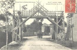 Passerelle De Brunville - Circuit De La Seine-Inférieure - Grand Prix De L'A.C.F. - Frankrijk