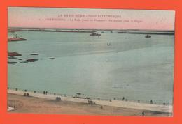ET/181 BASSE NORMANDIE PITTORESQUE CHERBOURG  LA  RADE LA DIGUE  JETEE DU HOMMET  N°2 - Cherbourg