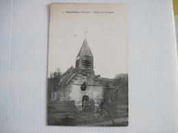 CPA 80 MONTDIDIER Eglise Du Monchel Non écrite T.B.E. - Montdidier