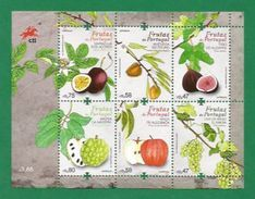 Portugal 2017, Fruits From Portugal , Kleinbogen - Postfrisch / MNH / (**) - Unused Stamps