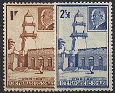 Somalie, N° 191 à N° 192** Y Et T - Côte Française Des Somalis (1894-1967)