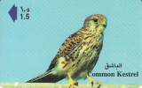 OMAN(GPT) - Common Kestrel, CN : 41OMNS/B(0 With Barred), Used - Oman