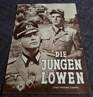 """Altes IFB-Filmprogramm - MARLON BRANDO & DEAN MARTIN In """"Die Jungen Löwen"""" Mit Hope Lange ... - 181654 - Magazines"""