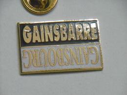 Pin's - Musique STAR SERGE GAINSBOURG / GAINSBARRE - Muziek