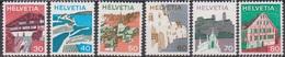 Schweiz 1973 MiNr. 1007,1008,1009,1010,1011,1012 ** Postfr. Freimarken: Landschaften ( 6634) Günstige Versandkosten - Ungebraucht