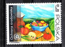 Polonia   -   1973.  Frutta; Quadro Natura Morta. Fruit; Still Life Picture. MNH - Frutta