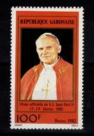 Gabon - YV 488 Pape Jean Paul II N** - Gabon