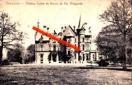 OVERYSSCHE - Château Comte De Marnix De Sainte Aldegonde - Overijse