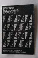 ITALIA, 2018 ROME  MUSEUM NAZIONALE ROMANO TICKET OF ENTRANCE - Biglietti D'ingresso