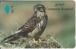 OMAN(GPT) - Bird, Common Kestrel, CN : 44OMNP/B(normal 0), Used - Oman