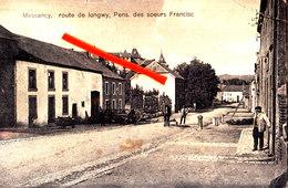 MESSANCY - Route De Longwy, Pensionnat Des Soeurs Franscisquaines - Messancy