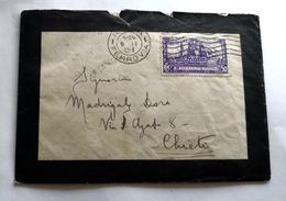 ITALIA, 1932, ACCADEMIA NAVALE  LIRE 0,50 SU BUSTA VIAGGIATA - Storia Postale