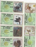 MINIASSEGNI -CASSA RURALE DI TESERO - SERIE FIGURATA ANIMALI -FDS- - [10] Assegni E Miniassegni
