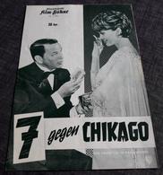 """Altes IFB-Filmprogramm - FRANK SINATRA & DEAN MARTIN In """"7 Gegen Chikago"""" Mit Bing Crosby, Peter Falk ... - 181664 - Riviste"""