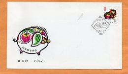 PR China 1983 FDC - 1980-89