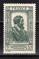 FRANCE 1943 -  Y.T. N° 592 - NEUF** /7 - Ungebraucht