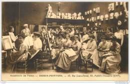 75016 - PARIS - Academie De Passy - Peinture Et Dessin - 12 Rue Louis David - Geo Weiss Directeur - Arrondissement: 16