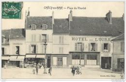 77 - CRECY EN BRIE - Place Du Marche - Edit Gruot - Autres Communes