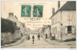 77 - NEUFMONTIERS - Grande Rue (animee) - Other Municipalities