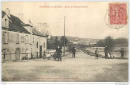 77 - NANTEUIL SUR MARNE - Route De Chateau Thierry (animee) - Autres Communes