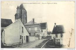 78 - SAINT MARTIN DE BRETHENCOURT - Place Eglise Et Mairie - Sonstige Gemeinden