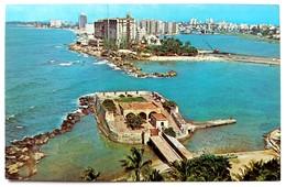 #306   Fort 'San Geronimo - San Juan PUERTO RICO Caribbean Islands - US Postcard - Postcards