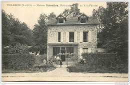 91 - VILLEBON SUR YVETTE - Maison Cotentien - Restaurant Du Val D'Yvette - Autres Communes