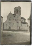 Rare Photo De L'eglise De MAISON ROUGE (77) Prise Vers 1915/1920 - Fotos
