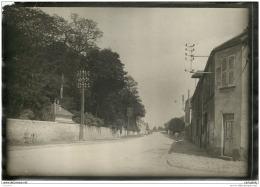 Rare Photo D'une Rue De MAISON ROUGE (77) Prise Vers 1915/1920 - Fotos