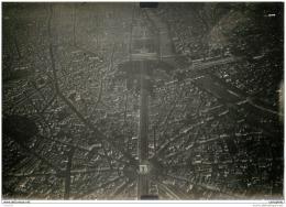 Paris - Rare Photo De Reconnaissance Aerienne Prise D'avion Vers 1915 - Orte