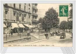 75003 - PARIS - Le Boulevard Du Temple - Le Theatre Dejazet - LL - Arrondissement: 03