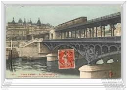 75016 - TOUT PARIS - Le Metropolitain - La Passerelle Du Pont De Passy (couleur) - District 16