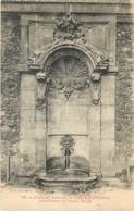 75 - VIEUX PARIS B.C. - Fontaine Rue Childebert Square Monge - France