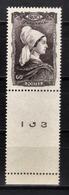 FRANCE 1943 -  Y.T. N° 593 - NEUF** - France