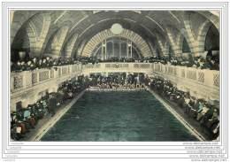 US - Interior Of Pittsburg Natatorium - Swimming Pool Piscine - Pittsburgh