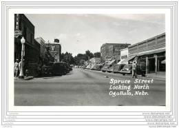US - Ogallala NE - Spruce Street Looking North - Etats-Unis