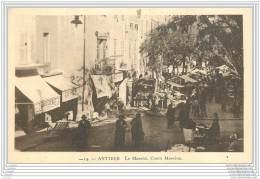 06 - ANTIBES - Le Marche Cours Massena - Autres