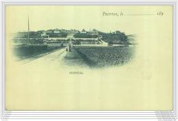 77 - PROVINS - Carte Precurseur Annees 1890 - HOPITAL - Provins