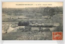 77 - VILLENEUVE SUR BELLOT - Les Ecoles - Groupes Scolaires - France