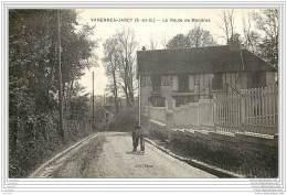 91 - VARENNES-JARCY - La Route De Mandres 1940 - Autres Communes