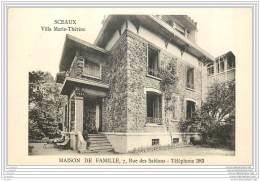 92 - SCEAUX - Villa Marie Therese - Maison De Famille 7 Rue Des Sablons - Sceaux
