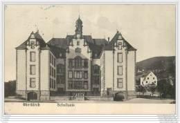 Allemagne - OBERKIRCH - Schulhaus - Cachet Bleu De Controle Au Dos 1915 WW1 STRASBOURG - Oberkirch