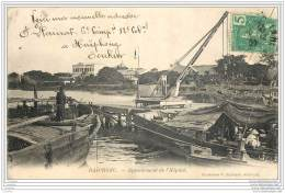 Viet-Nam - Tonkin - Haiphong - Appontement De L'hopital (correspondance Interessante) 1907 - Vietnam