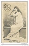 Artiste De Theatre - Sarah Bernhardt 1902 - Postee De Figeac Lot - Artisti