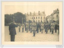Lot De 3 Photos D'une Ceremonie Militaire A Nantes En 1933 - General D'Armee Hergault - Forces Aeriennes Francaises - Identifizierten Personen
