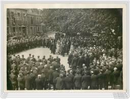 Photo Cartonnee D'une Remise De Croix De Combattants A Le Loroux Bottereau (44) En 1932 - Krieg, Militär